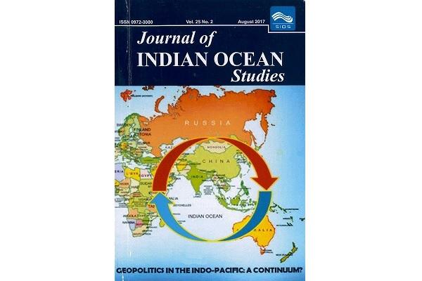 Jornal INDIAN OCEAN Studies 表紙